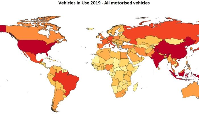 vehicles in use 2020